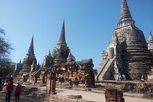 【 태국 】불교성지순례 / 『아유타야』불교 역사 중심지, 『방콕, 칸차나부리』 불교 성지순례
