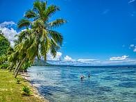 비너스 섬 【 타 히 티 】 『 프랑스령 폴리네시아 소시에테제도 주도 』