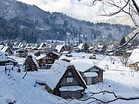 [셰계문화유산]  나고야  【 시라카와 고카야마 역사마을 】  (갓쇼즈쿠리 합장촌)  《 3박 4일 》