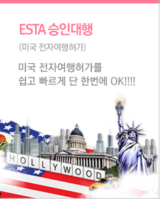 ESTA 승인대행 (미국 전자여행허가제)
